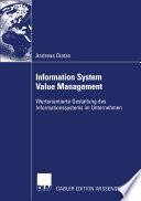 Information System Value Management