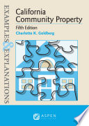 Examples   Explanations for California Community Property