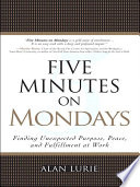 Five Minutes On Mondays : real-estate firms coming together every monday...