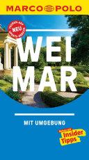 MARCO POLO Reisef  hrer Weimar