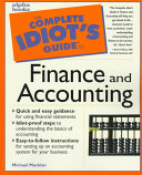 The Complete Idiot s Guide to Finance and Accounting
