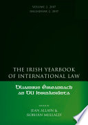 The Irish Yearbook of International Law  Volume 2 2007