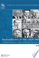 Hydraulicians in the USA 1800-2000