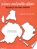 Bulletin Of The Atomic Scientists book