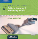 Web-Based Labs For A+ Guide To Managing & Maintaining Your PC Pass Code