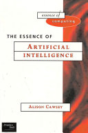 The Essence Of Artificial Intelligence Edition En Anglais
