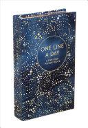 One Line a Day  Celestial  Book PDF