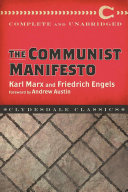 download ebook the communist manifesto pdf epub