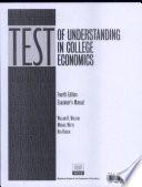 Test of Understanding in College Economics