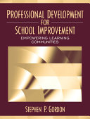 Professional Development For School Improvement