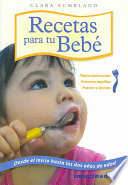 Recetas Para Tu Bebe / Recipes for Your Baby