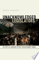 Unacknowledged Legislators