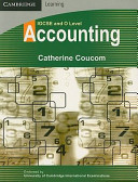 IGCSE and O Level Accounting Book Cover