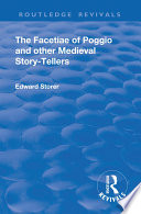 Revival The Facetiae Of Poggio And Other Medieval Story Tellers 1928