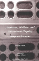 Aesthetics  Politics  and Educational Inquiry