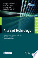 Arts and Technology Third International Conference On Arts