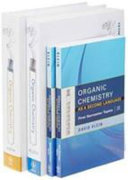 Organic Chemistry 1E with Study Guide Solutions Manual and Organic Chemistry as a Second Langauge I   II Set