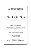 A Text Book Of Pathology book