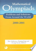 Mathematical Olympiads 2000 2001