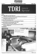 TDRI Quarterly Review