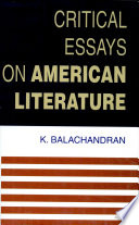 Critical Essays on American Literature