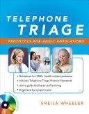 Telephone Triage  Protocols for Adult Populations