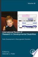 Early Development In Neurogenetic Disorders book