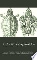 Archiv für Naturgeschichte