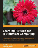 Learning RStudio for R Statistical Computing