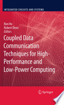 Coupled Data Communication Techniques for High Performance and Low Power Computing