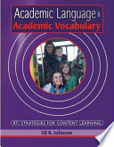 Academic Language   Academic Vocabulary