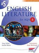 AS English Literature for AQA B