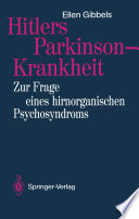 Hitlers Parkinson-Krankheit