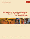Macroeconomic Vulnerabilities Stemming from the Global Economic Crisis