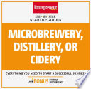Microbrewery  Distillery  or Cidery