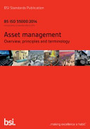 Asset Management  Overview  Principles and Terminology