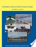 Guide Specifications For Seismic Isolation Design