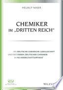 """Chemiker im """"Dritten Reich"""""""