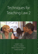 Techniques for Teaching Law 2