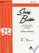 String Builder  Book II