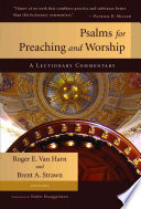 Psalms for Preaching and Worship