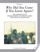 Why Did You Come If You Leave Again  Volume 2