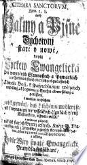 CITHARA SANCTORVM, Zgew. 5, 8. aneb Žalmy a Pjsně Duchownj staré y nowé