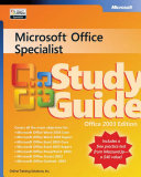 Microsoft Office Specialist Study Guide