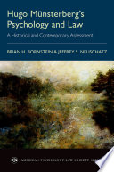 Hugo M  nsterberg s Psychology and Law Book PDF