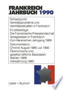 Frankreich-Jahrbuch 1990