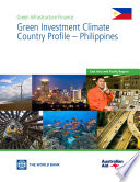 Ebook Green Investment Climate Country Profile – Philippines Epub Aldo Baietti, Andrey Shlyakhtenko and Roberto La Rocca Apps Read Mobile