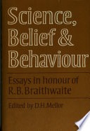 Science Belief And Behaviour