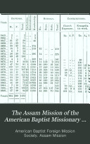 The Assam Mission of the American Baptist Missionary Union