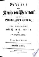 Von der Abkunft und Ausbreitung des Oldenburgischen Stammes ... Christian I bis Friedrich II